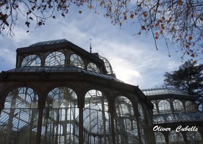 Palacio de Cristal del parque del Retiro de Madrid