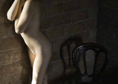 Sesión de desnudo con la modelo Jessica Gomez en el La Masia Studio