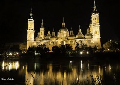 Nocturna de la Basílica Nuestra Señora del Pilar de Zaragoza