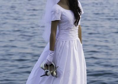 Sesión de boda con la modelo Nami Imane