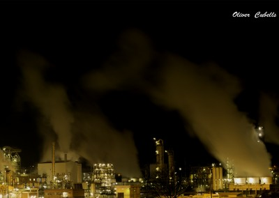 Nocturna de la fábrica Solvay