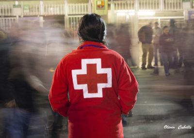 Creu Roja Projecte T'acompanyem al Camp Nou