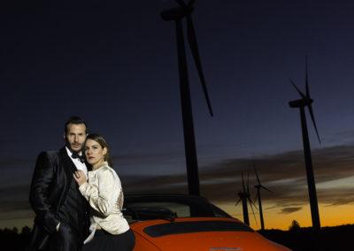 Modelos: Mystica - Noemí y Oscar Corral  / Maquilladora: Judith Mora