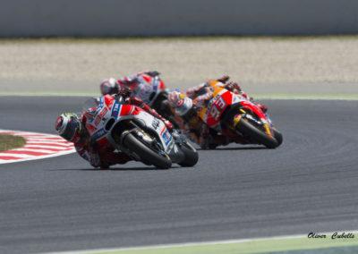 Lorenzo y Marc Marquez Moto GP Circuit Catalunya