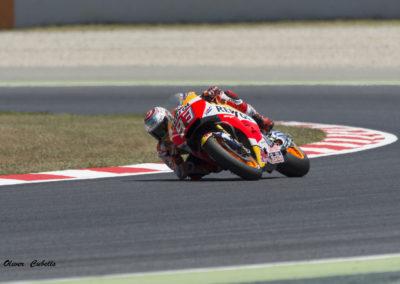 Marc Marquez Moto GP Circuit Catalunya