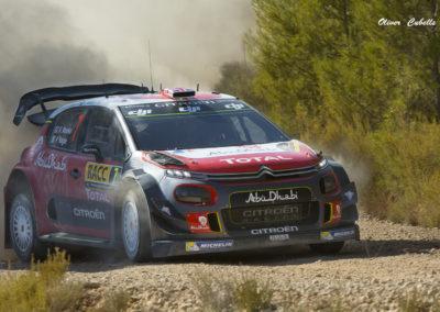 Citroen C3 WRC Nº7 Meeke