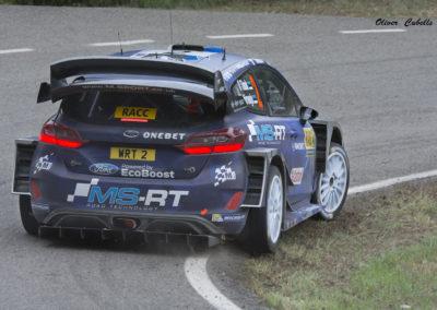 Ford Fiesta WRC Nº2 Tanak