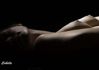 Sesión de desnudo con la modelo Noemy Fernandez