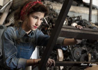 Proyecto Tributo a la mujer trabajadora - Paula